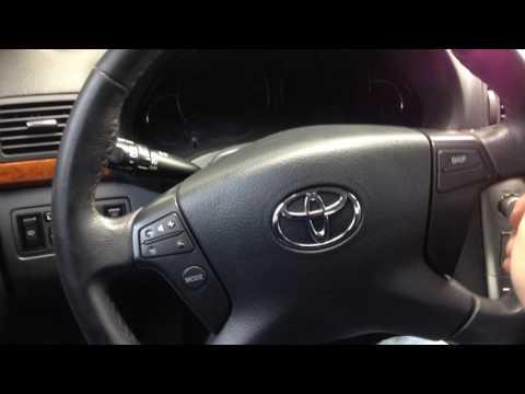 Стук в руле Toyota Avensis T25