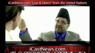 iCast UN Interview - Muslims for Peace Part I