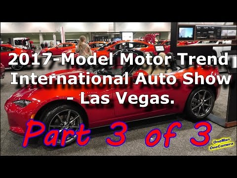 Las Vegas Motor Trend International Auto Show Part 3 of 3