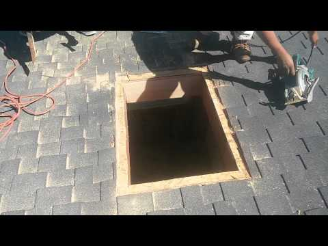 how-to-video:-installing-a-curb-mount-skylight-,-step-by-step-from-start-to-finish!