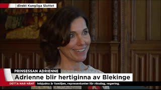 """""""Det är ett väldigt vackert namn som passar med syskonens namn"""" - Nyheterna (TV4)"""