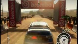Colin McRae DiRT 2 (Xbox 360) - Morocco Rally gameplay