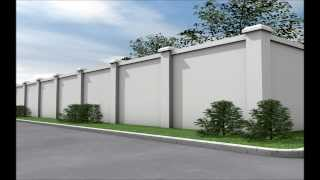 Ar Building Solutions - Contempo Fence - Eps Wall Panel - Mgo Sandwich Board