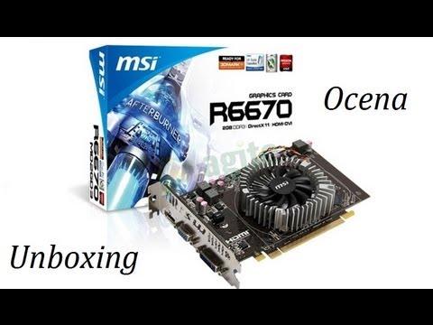 Unboxing + Ocena Karty Graficznej Radeon HD 6670