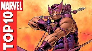 Top 10 Hawkeye Moments From The Avengers: Earth's Mightiest Heroes