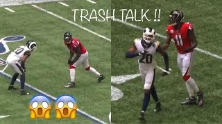 Julio Jones vs Jalen Ramsey MATCHUP OF THE YEAR! RAMSEY RAMS DEBUT! (WR vs CB)
