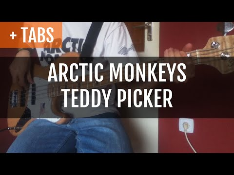 Arctic Monkeys - Teddy Picker (Bass Cover with TABS!)