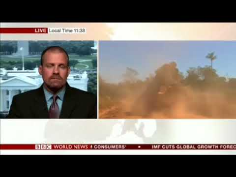 Amazon Miller of Amazon Watch discusses deforestation in Brazil on BBC World News