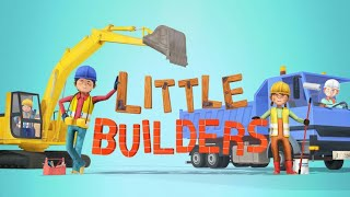 Little Builders Kids Games | Trucks , Cranes & Diggers - Fun Construction