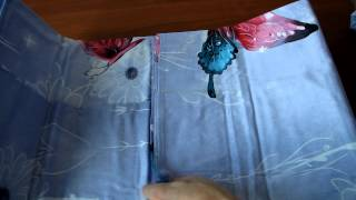 Постельное бельё из сатина Евро - ПГ - FS-324(Постельное бельё серого цвета с объемными 3д изображением разноцветных бабочек., 2014-03-24T12:38:38.000Z)