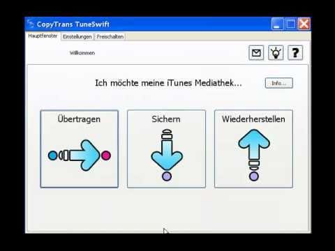 iTunes Mediathek sichern