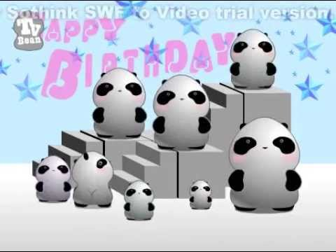 Panda Farting Happy Birthday Song