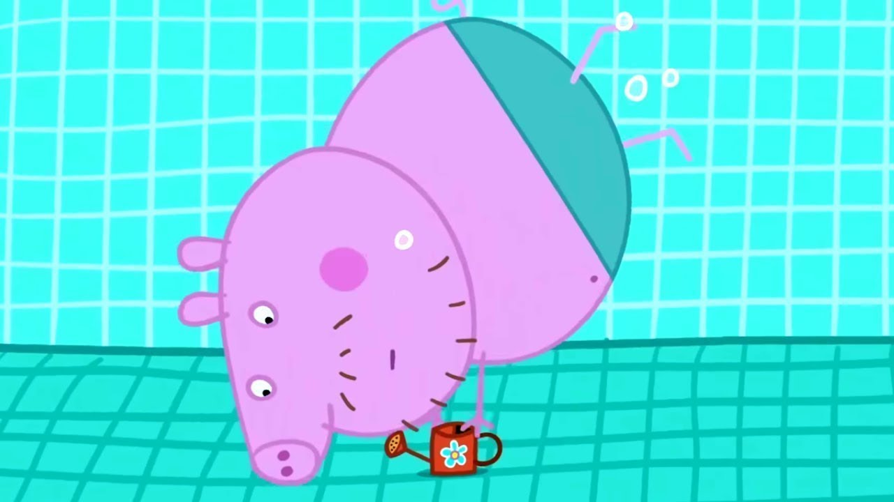 Peppa Pig Français | Peppa visite la piscine | Épisode Complet | Dessin Animé Pour Bébé