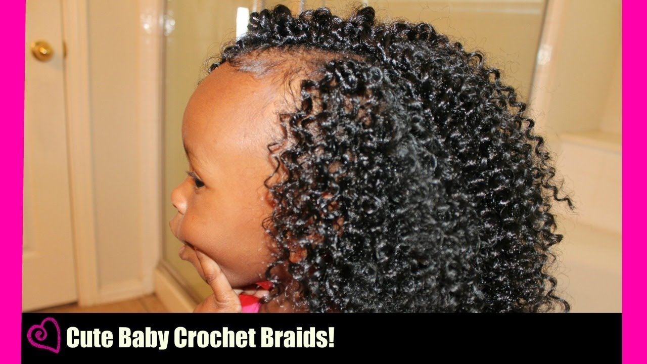 Cute Crochet Braids For Little Girls Very Easy No Tension Youtube