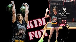 Kim Fox | ! SENSATION ! - 77 reps in long cycle with the 24 kg kettlebells (2018)
