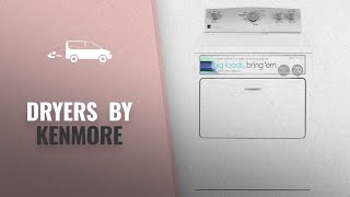 Most Popular Kenmore Dryers [2018]: Kenmore 65132 7.0 cu. ft. Electric Dryer with SmartDry Plus