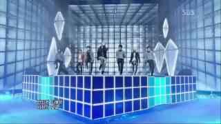 BIGBANG [INTRO & BLUE] @SBS Inkigayo Popular song 20120311