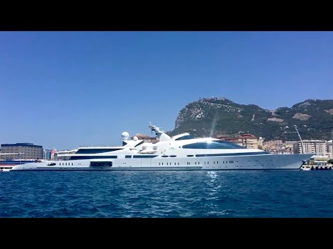 Yas Super-yacht in Gibraltar