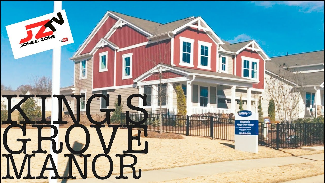 King 39 s grove manor by mattamy homes york sc youtube for Home builders york sc