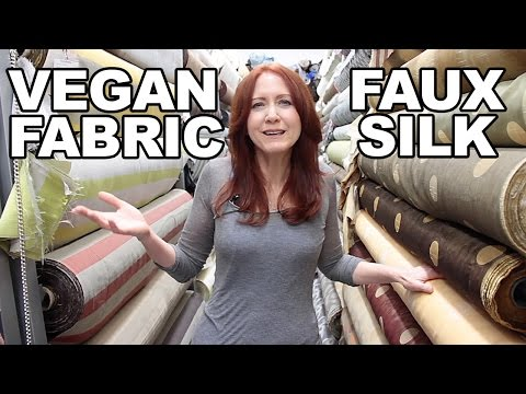Vegan Fabrics: Replace Silk with Kinder Materials for Your Home and the Planet!