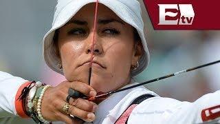 Aida Román gano medalla de oro en campeonato de tiro con arco / Adrenalina