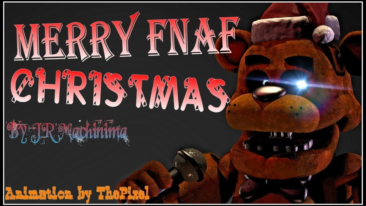 Merry FNaF Christmas | Animated Song by JT Machinima - YouTube
