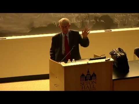 Freeman Dyson - Rev. Stanley L. Jaki, O.S.B. Distinguished Lecture