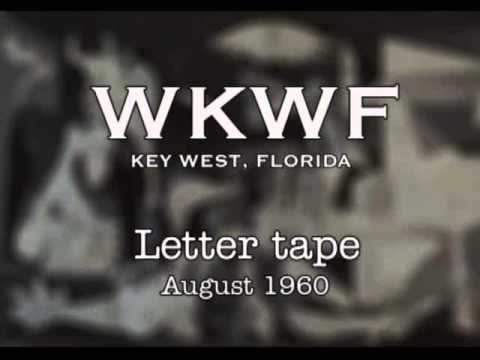 WKWF Key West - Letter tape - August 1960 - Bob Leach, Mike Lane and Dave Anderson for Jody Lann