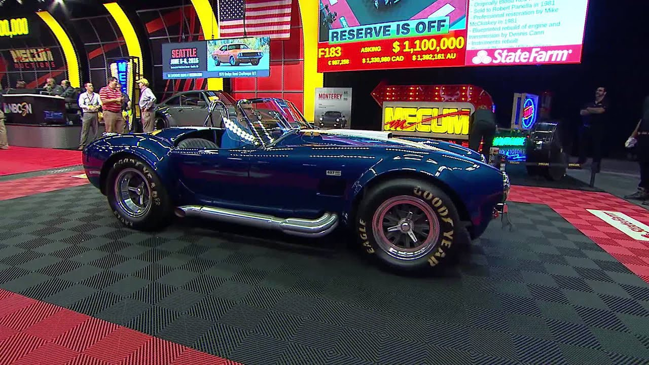 Mecum Indy 2015 - Top Sellers of Auction - YouTube
