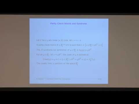 Nicolas Sendrier - Code-based public-key cryptography