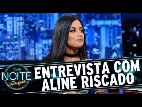 The Noite (14/10/15) - Entrevista Com Aline Riscado