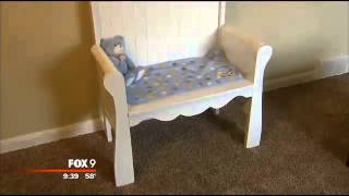 Stillborn Baby's Transformed Crib Helps Mother Heal