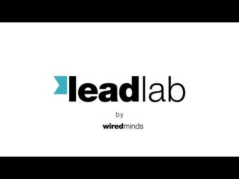 wiredminds Leadlab Software - Overview