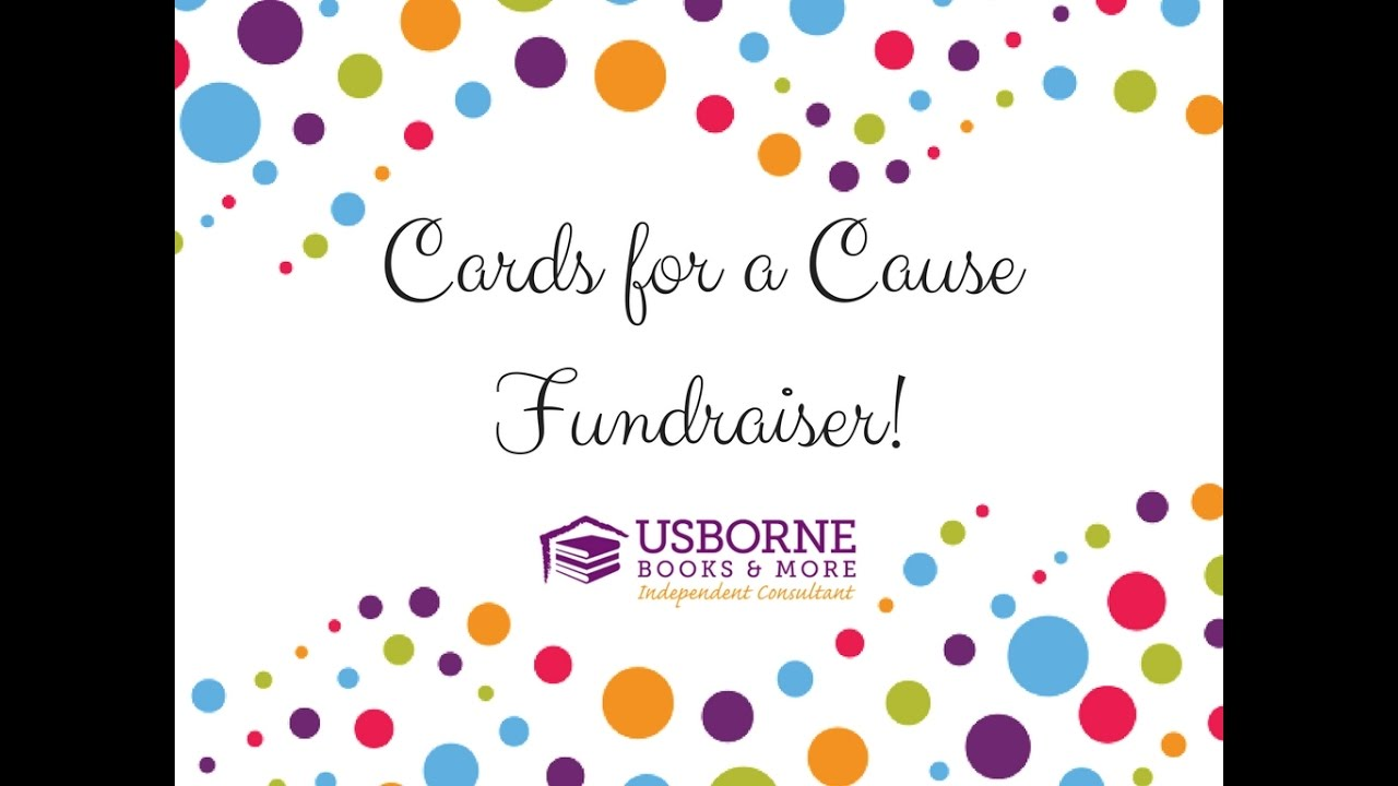 How to run a Cards for a Cause fundraiser!
