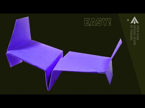 How to make a Paper Airplane that Flies - Best Paper Airplanes 🌟🌟🌟🌟🌟 | Star War Tie Fighter