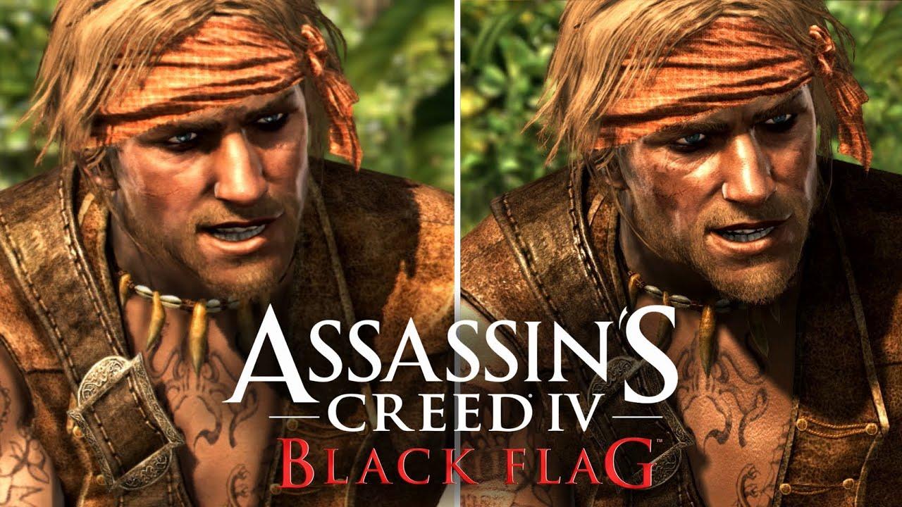 Assassin S Creed 4 Graphics Comparison Ps4 Ps3 Xbox 360 Wii U