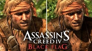 Repeat youtube video Assassin's Creed 4: Graphics Comparison (PS4, PS3, Xbox 360, Wii U)