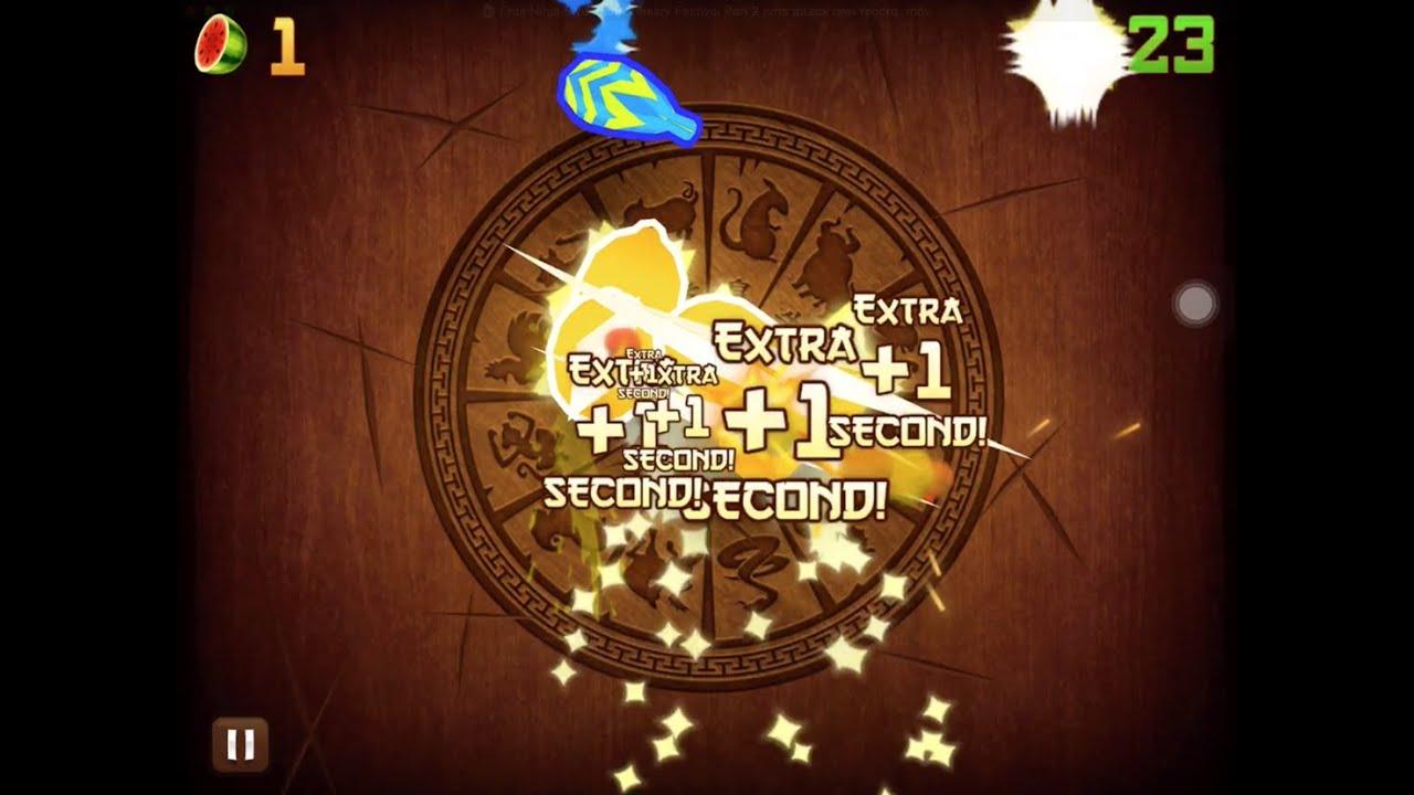 Fruit ninja 5 - Fruit Ninja 5 Year Anniversary Festival Part 2 Time Attack New Record