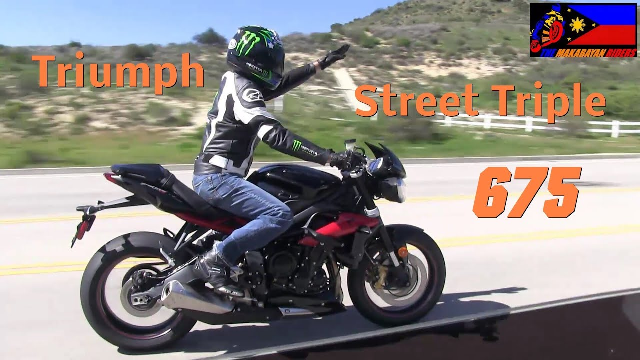 2013 triumph street triple 675 r short test ride on the street youtube. Black Bedroom Furniture Sets. Home Design Ideas