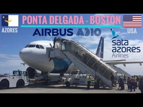TRIPREPORT | SATA - Azores Airlines (Economy) | Airbus A310 | Ponta Delgada - Boston