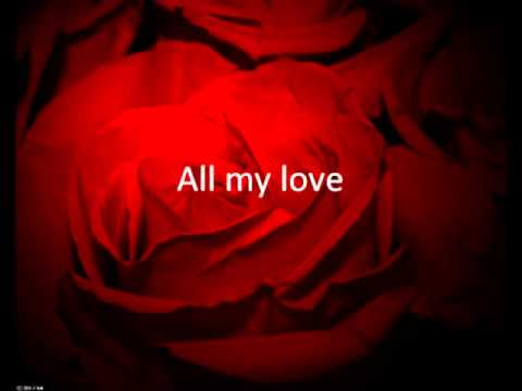 Rocazino  - All my love Danish Lyrics, English translation