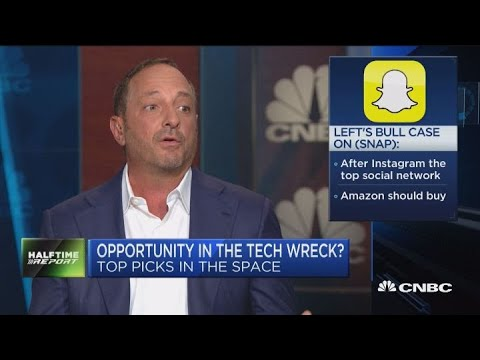 Citron's Andrew Left makes the bull case for Snap