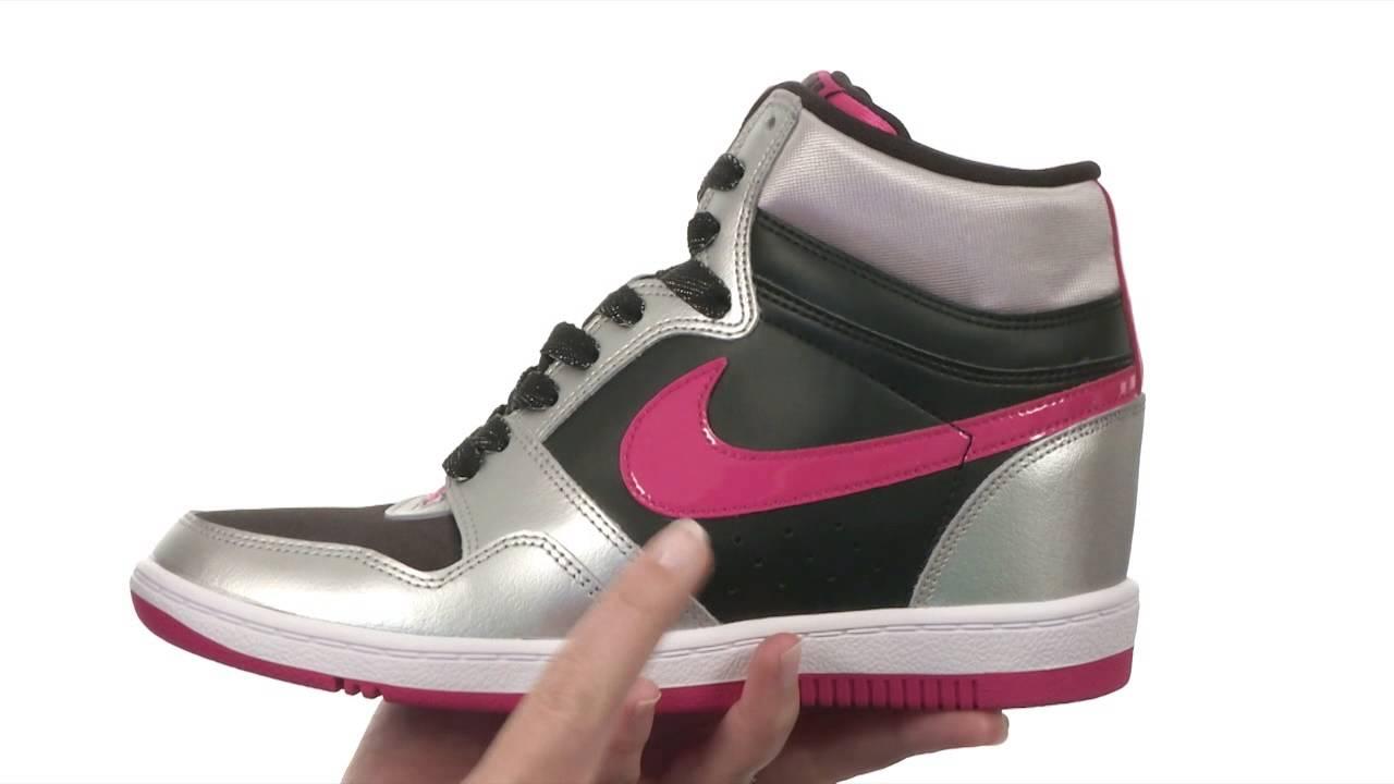 new styles 64de3 2c59c Nike Force Sky High Sneaker Wedge SKU8248142
