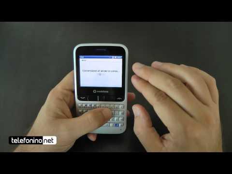 Vodafone 555 blue videoreview da Telefonino.net