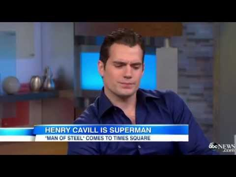 Henry Cavill Interview on 'Good Morning, America'