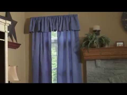Easy Curtain Rod Holders