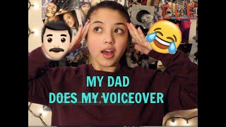My Dad Does My Voice Over!! // Everyday Makeup Routine
