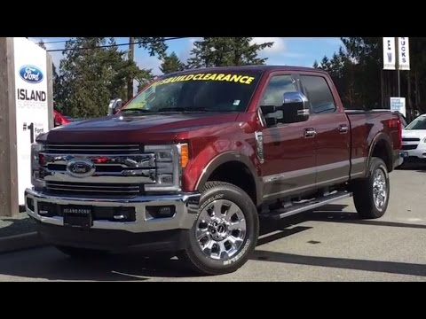 2017 Ford Super Duty F-350 Lariat FX4 Chrome + Stowable Ramps Review - Island