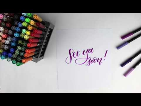 Tombow Dual Brush Pens and Sets