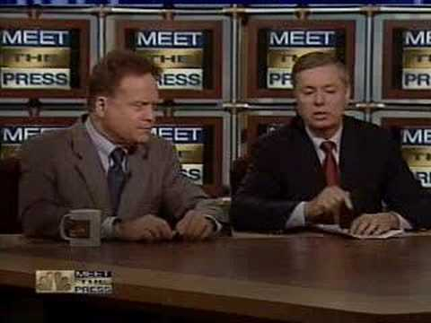 Sen. Jim Webb Rips Sen. Lindsey Graham on Meet the Press